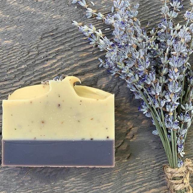 Lavendel / rozemarijn zeep